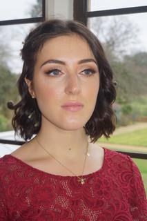 Natural fresh faced makeup with a slick liner for this bridesmaid - Make Me Bridal Artist: The studio effect . #classic #boho #naturalmakeup