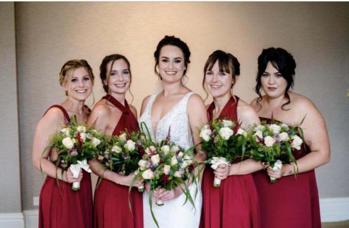 Hair and makeup - Make Me Bridal Artist: The studio effect . Photography by: Mark seymour . #classic #naturalmakeup #weddingmorning #bridalhair #bridalmakeup