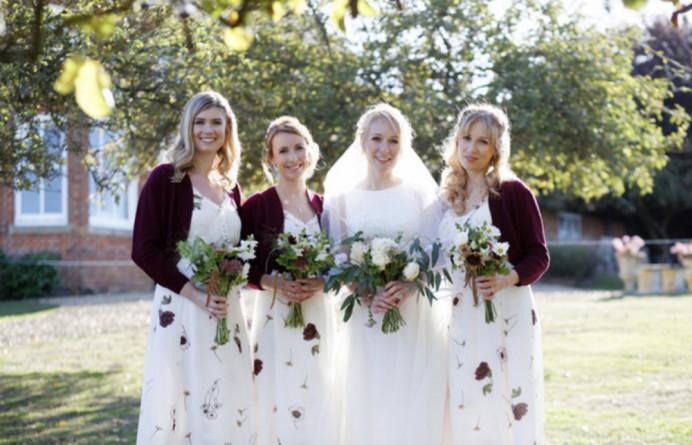 - Make Me Bridal Artist: The studio effect . Photography by: Nat Thompson . #boho #rustic #bridesmaids