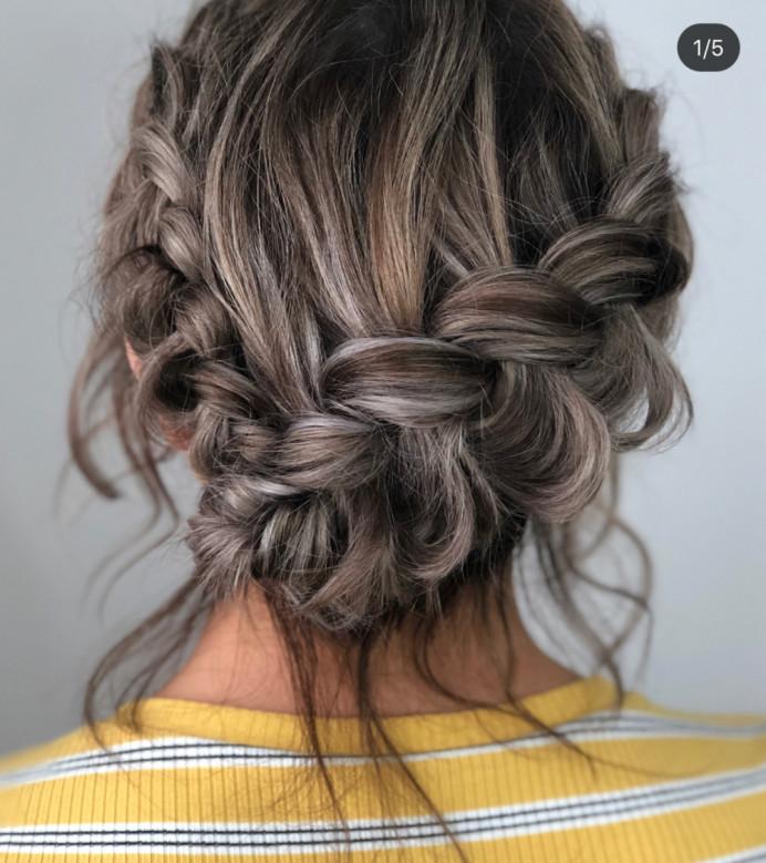 - Make Me Bridal Artist: The studio effect . #braidedupdo #braids #updo