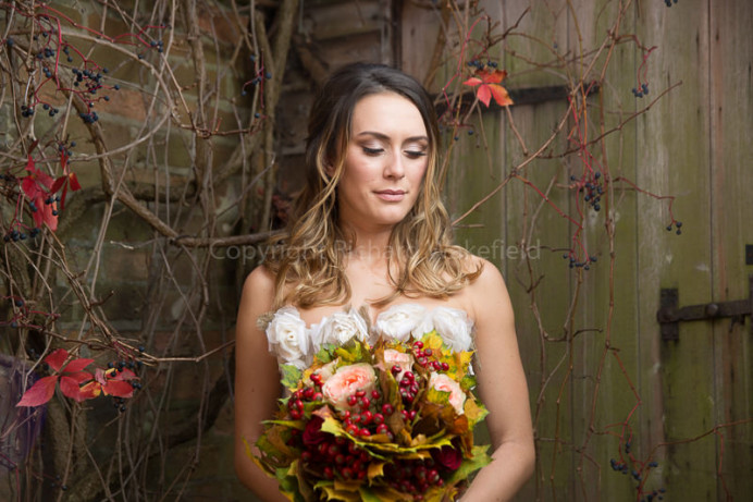 Floral relaxed wedding hair and makeup - Make Me Bridal Artist: The studio effect . Photography by: richard wakefield. #vintage #bohobride #weddingdress #floral #countryside #summerwedding #relaxed