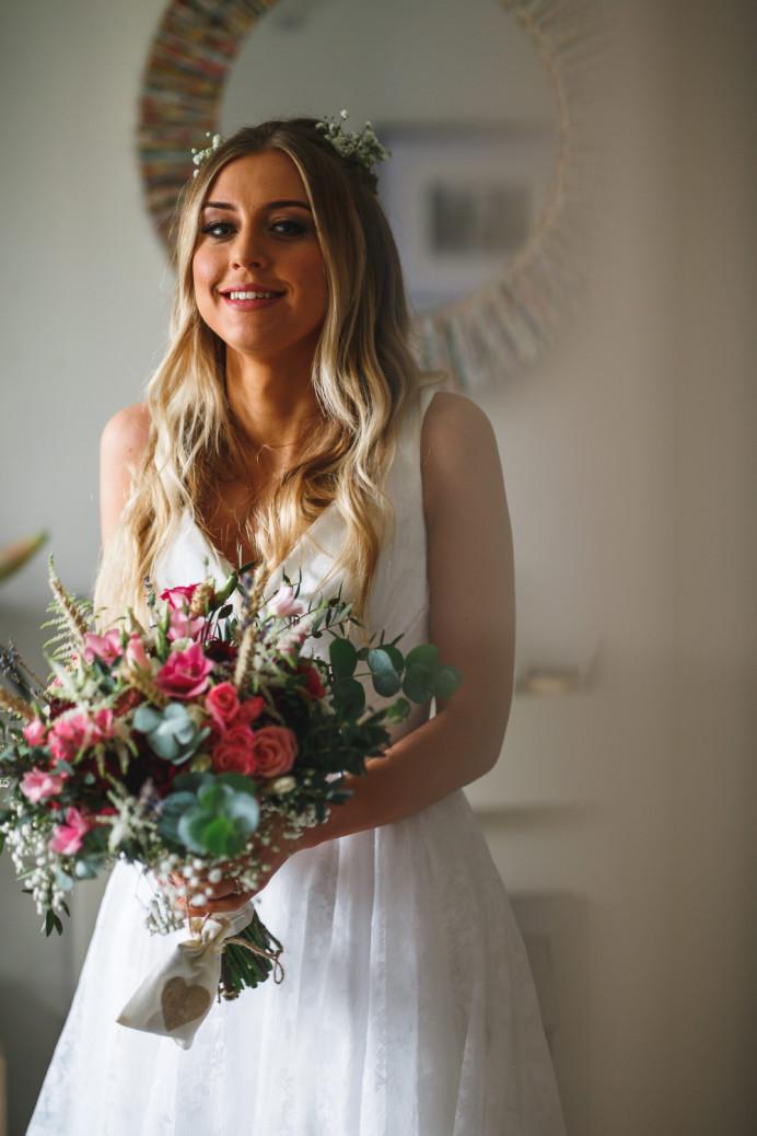 - Make Me Bridal Artist: Jenna Dale Makeup Artist. Photography by: Gareth Newstead. #bohemian #bohobride #bohochic