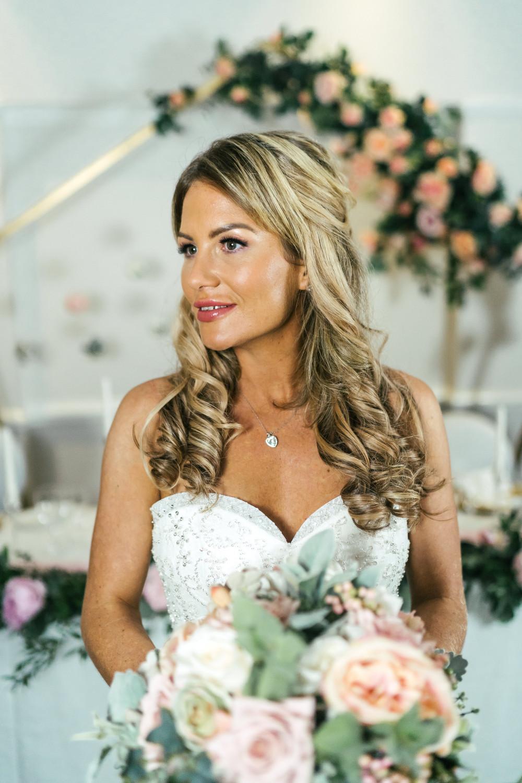 - Make Me Bridal Artist: Jenna Dale Makeup Artist. Photography by: Leesha Williams. #romantic #glowingskin #prettymakeup #modernbride #radiantbride