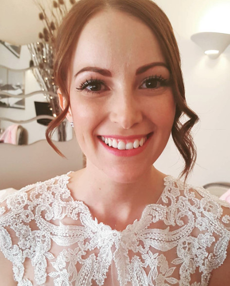 Stunning Sophie on her big day - Make Me Bridal Artist: Makeup By Sarah.