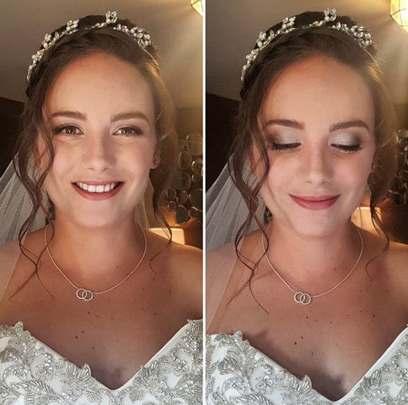 - Make Me Bridal Artist: Makeup By Sarah.