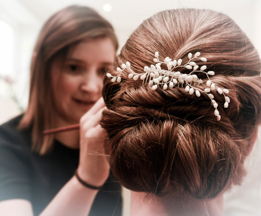 Wedding Hair and Makeup By Natasha Wiggins and team