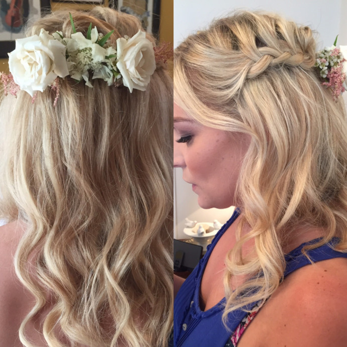 - Make Me Bridal Artist: Lolo & Co.. #roses #loosecurls #softcurls