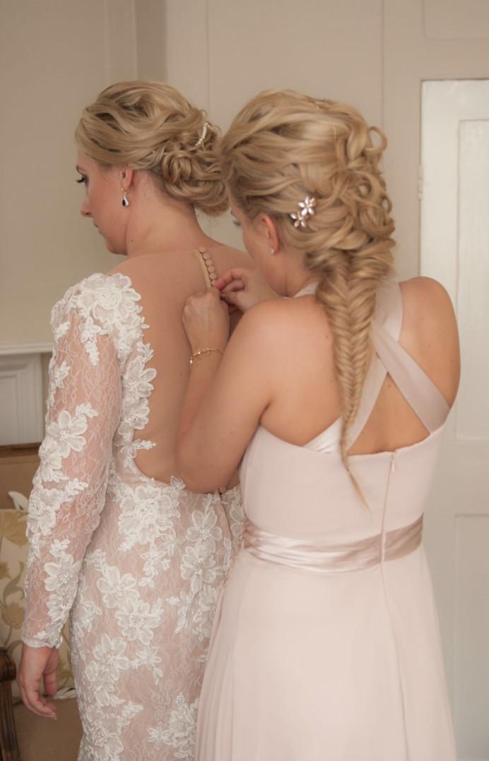 - Make Me Bridal Artist: Lolo & Co.. #bridalhair #bridesmaidhair #fishtailbraid