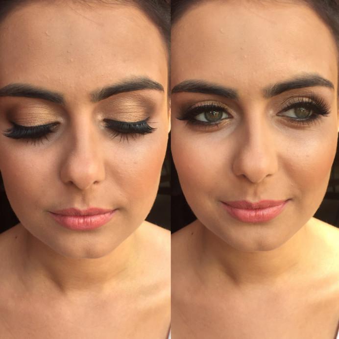 - Make Me Bridal Artist: Lolo & Co.. Photography by: Jennifer Lo. #glamorous #bridalmakeup #lashes #smokeyeyes #brows