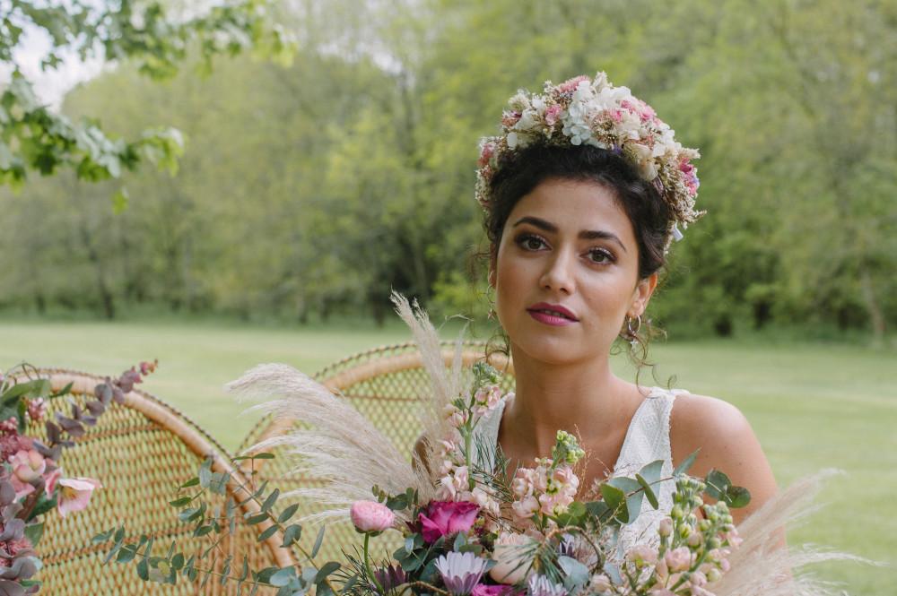 - Make Me Bridal Artist: Lolo & Co.. Photography by: Jess Littlewood. #bohobride