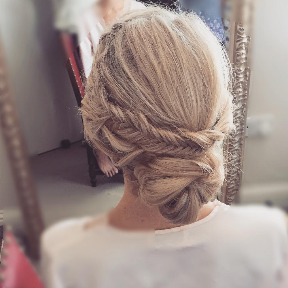 - Make Me Bridal Artist: Cara Hubbard - Hair Artist. #classic #glamorous #blonde #bridalhair #elegant