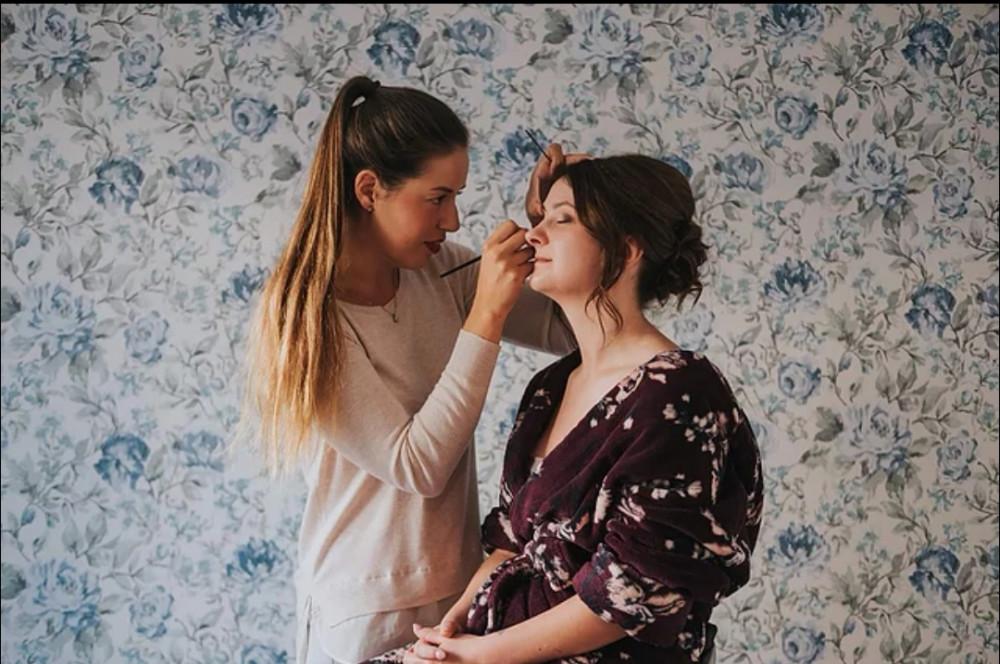 - Make Me Bridal Artist: Katie Morley Makeup Artist.