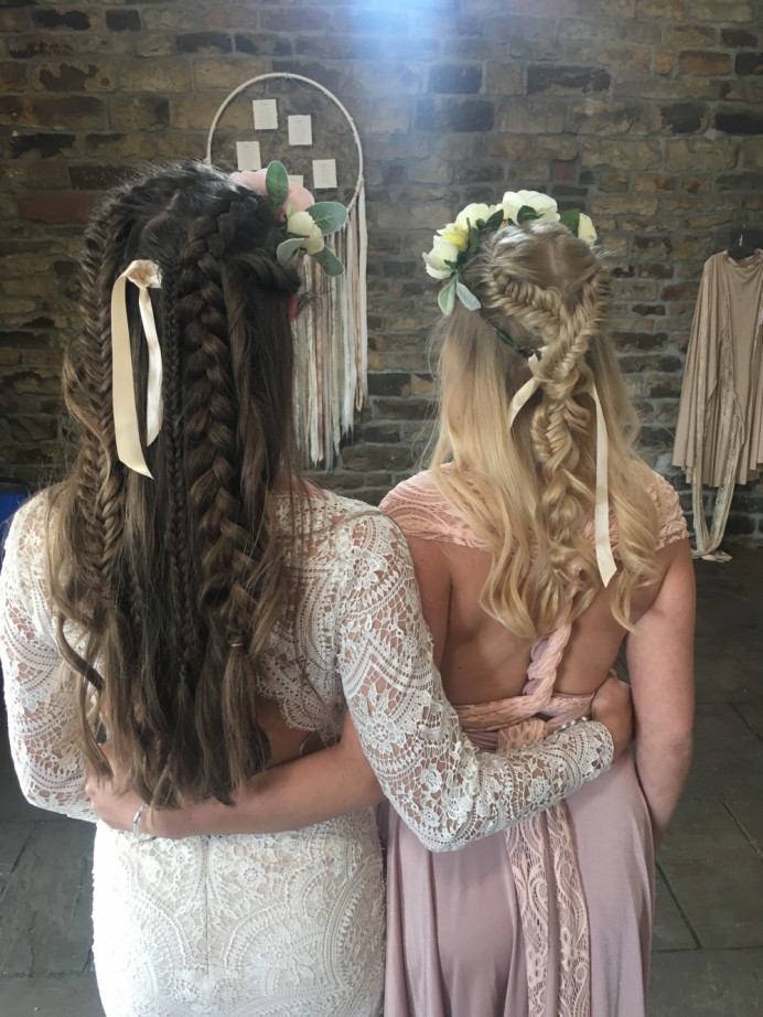 Boho goddess hair - Make Me Bridal Artist: Wild Rose Hair . #boho #bridalhair #braids #coolbride