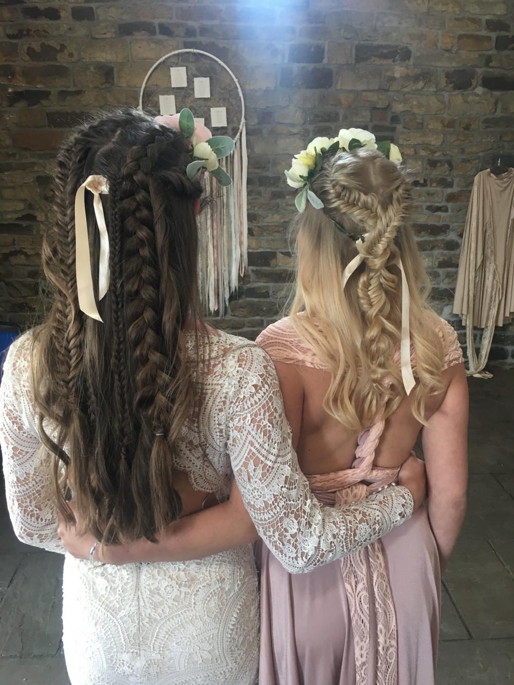 Boho goddess hair - Make Me Bridal Artist: Wild Rose Hair . #boho #bridalhair #braids #coolbride