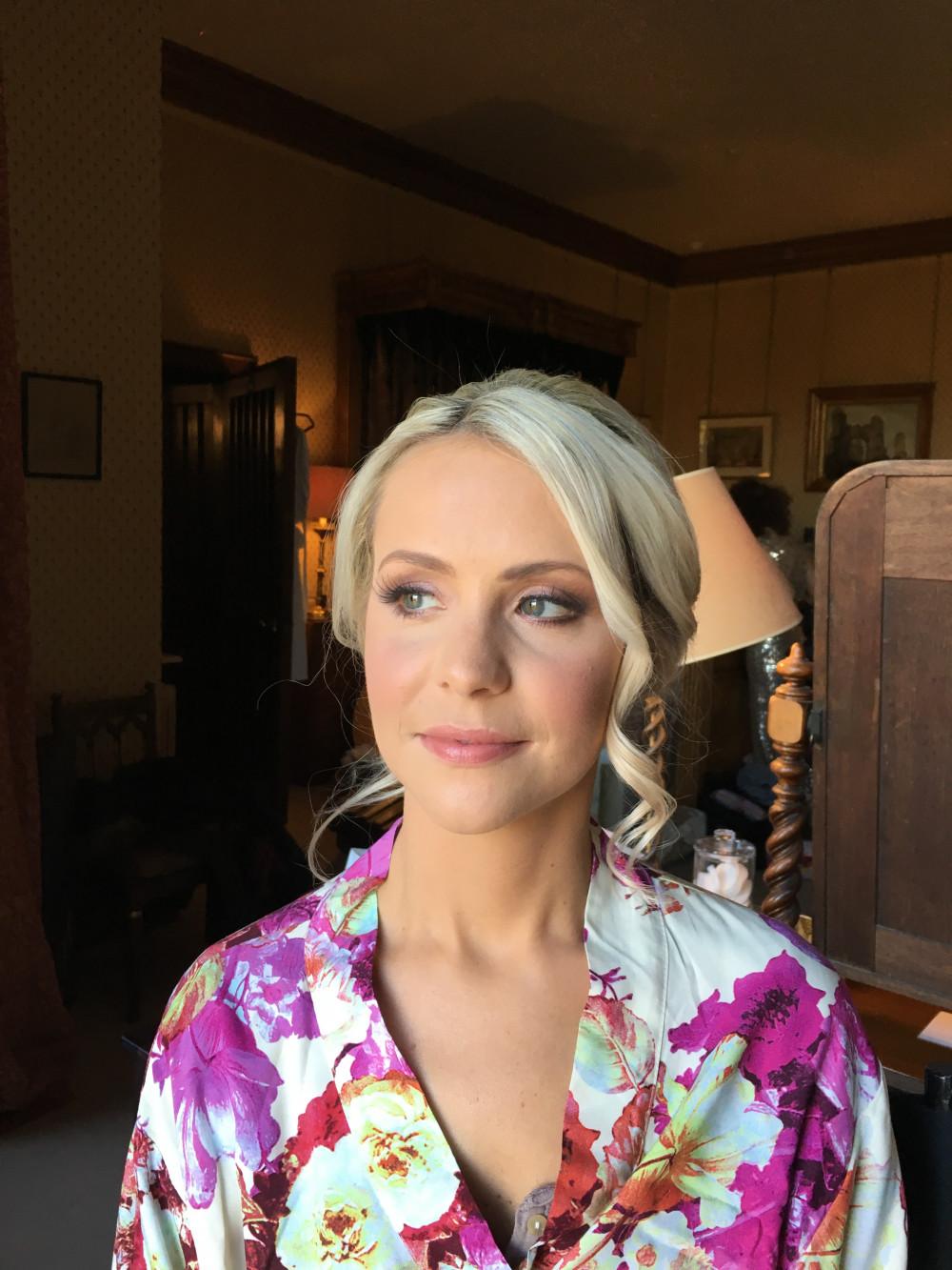 Beautiful Catherine at Eastnor Castle - Make Me Bridal Artist: Makeup by Natasha Louise .