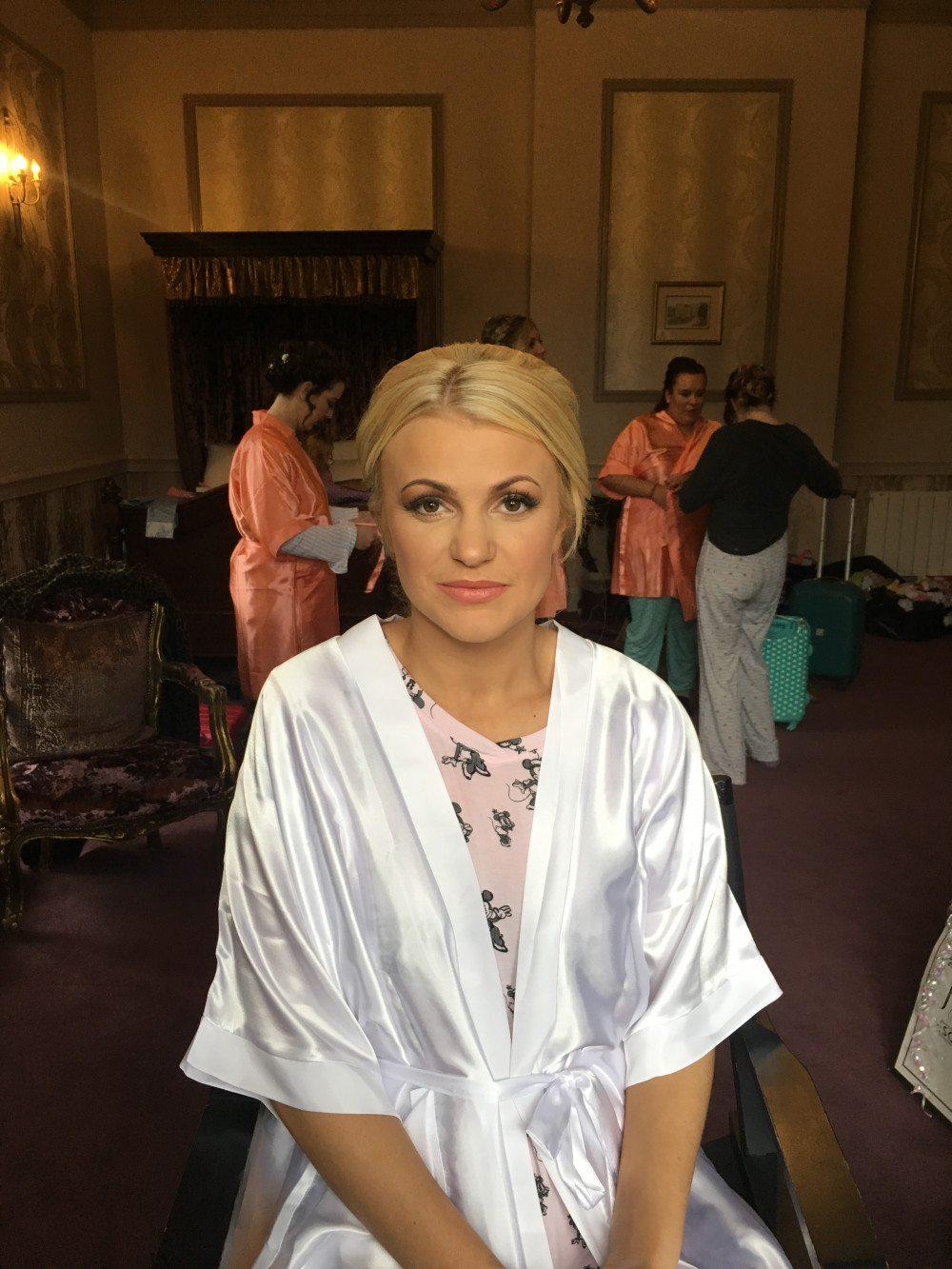 Gorgeous Micki at Clearwell castle - Make Me Bridal Artist: Makeup by Natasha Louise .