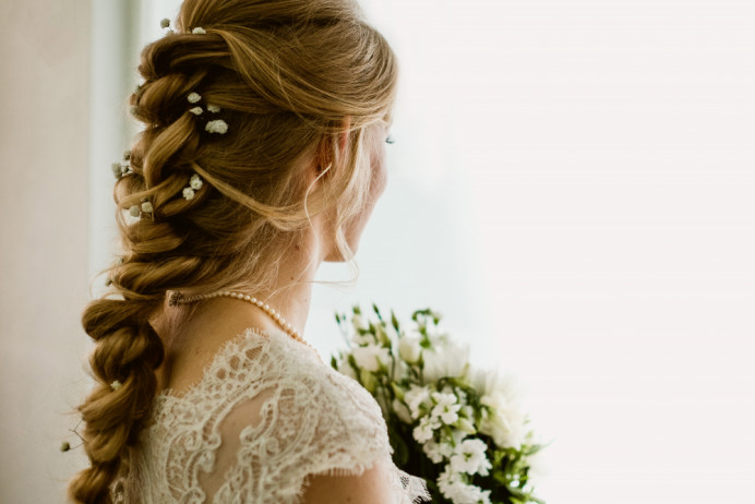 - Make Me Bridal Artist: Bridal Hairstylist Moira Borg. Photography by: Matt. #boho