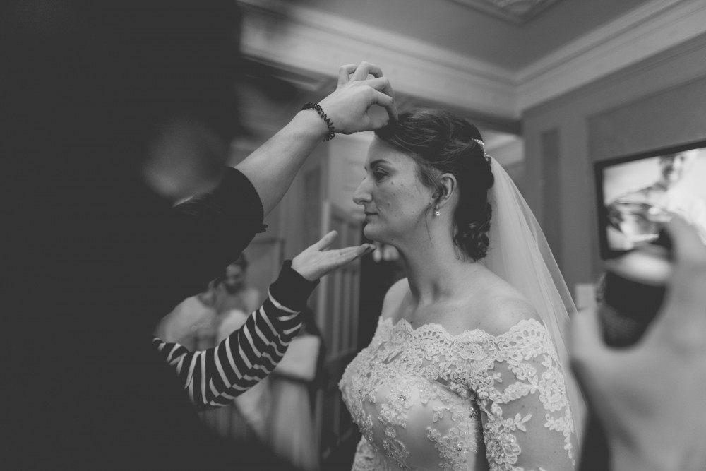 - Make Me Bridal Artist: Bridal Hairstylist Moira Borg. Photography by: Yasmine. #vintage