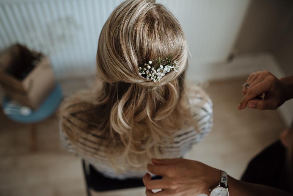 - Make Me Bridal Artist: Bridal Hairstylist Moira Borg. Photography by: Greg. #bohemian