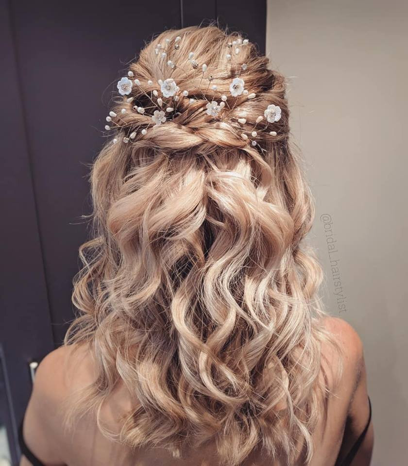 - Make Me Bridal Artist: Olga Markuse Hair stylist and Makeup Artist.
