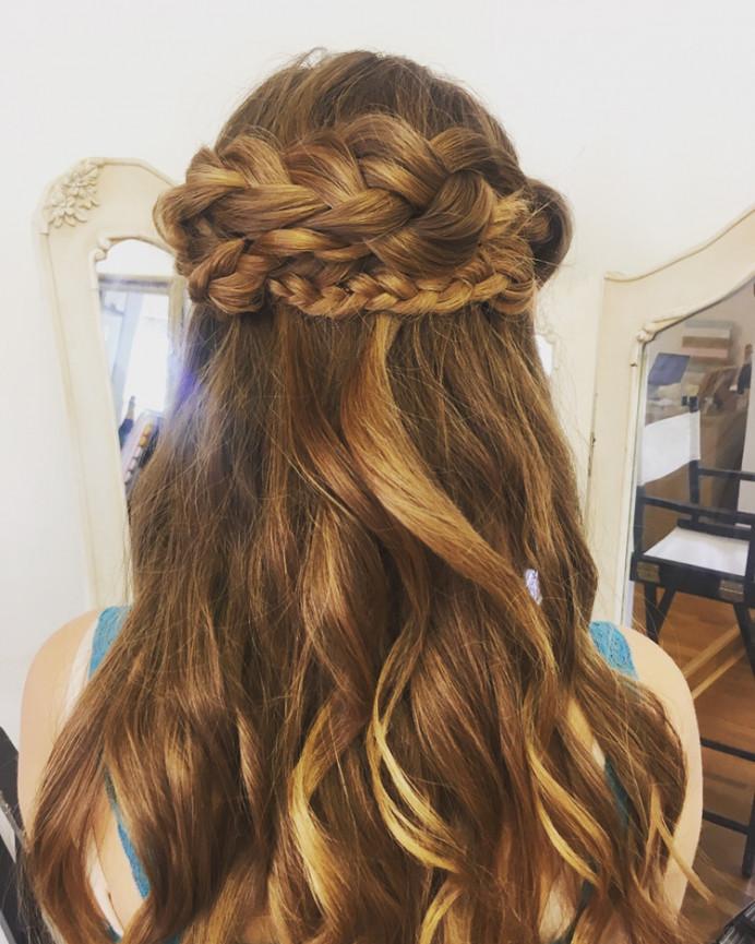 Boho wedding hair - Make Me Bridal Artist: Elizabeth Dayment. Photography by: Sarah Hoyle.