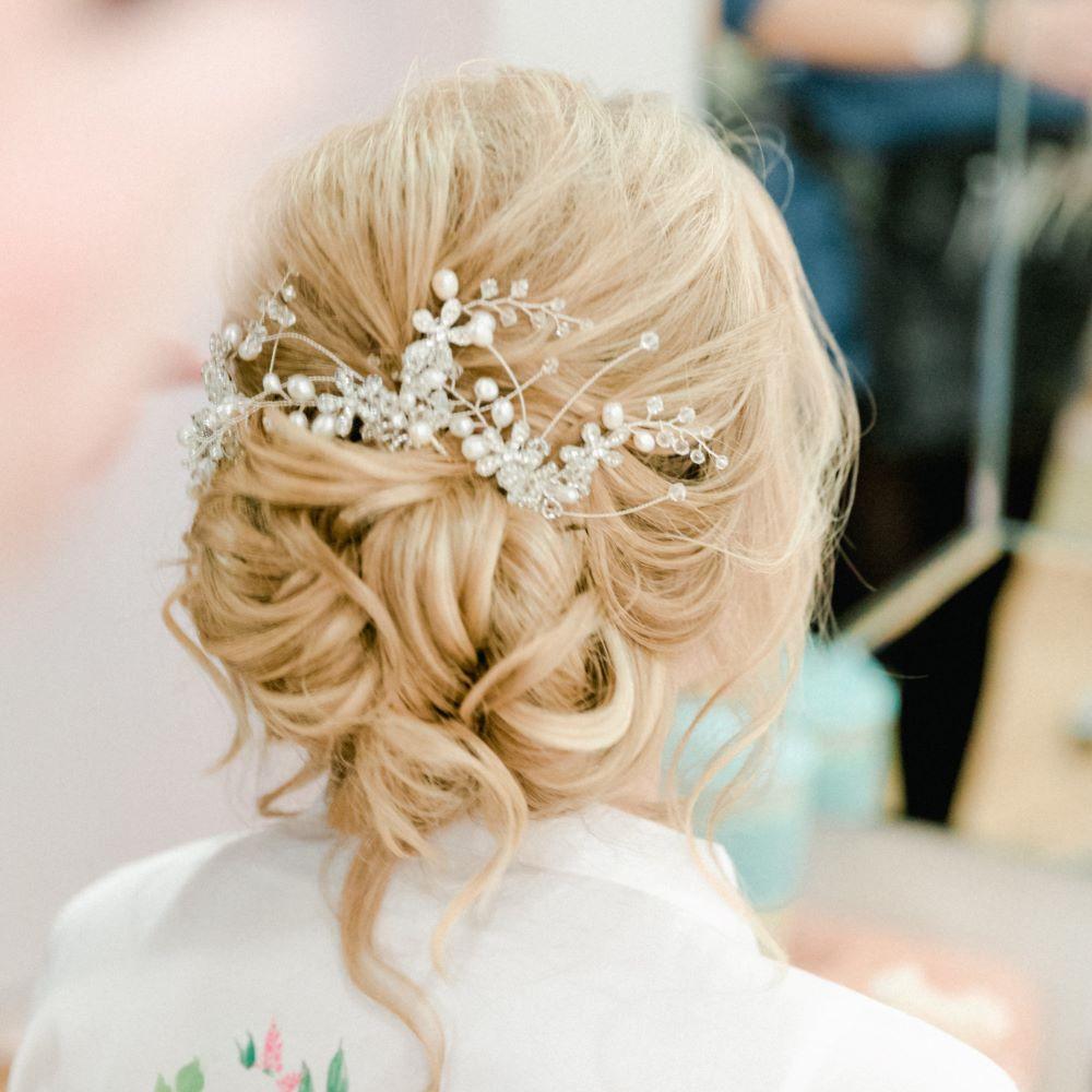 - Make Me Bridal Artist: Michelle Walker Hair. Photography by: Hayley Jayne Photography. #bride #modernbride #weddinghairessex #updo #essexbride #essexwedding #texturedupdo #bridalhairessex
