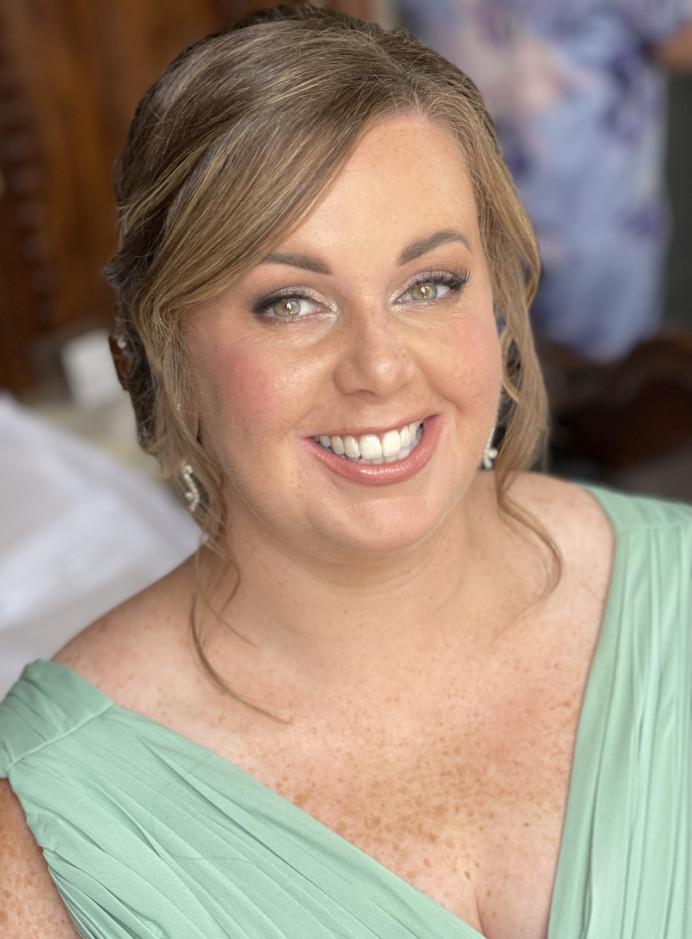 - Make Me Bridal Artist: Lynsay Gerry Makeup. #freshfaced #bridesmaidmakeup #freckles