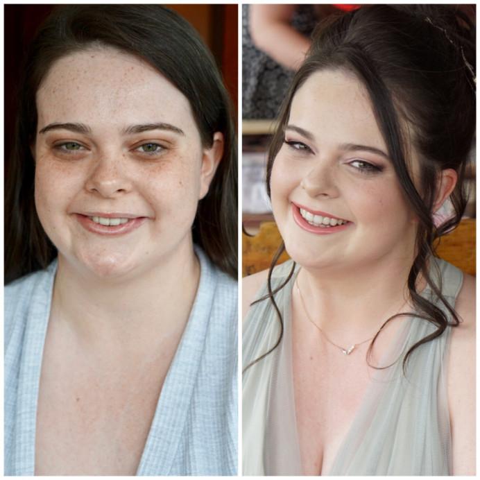 - Make Me Bridal Artist: Lynsay Gerry Makeup.