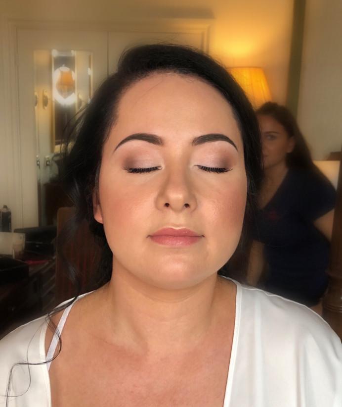 Natural makeup by CJ @CJ's Directors Package - Make Me Bridal Artist: CJ Beauty & Co. #classic #bohemian #boho #naturalmakeup #flawlessmakeup #peachy #softmakeup