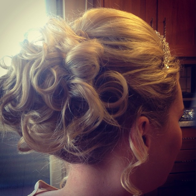 I love creating this style, as it can be as manicured and structured or as loose and soft as you want. - Make Me Bridal Artist: Beckie Welfare Hair & Makeup.