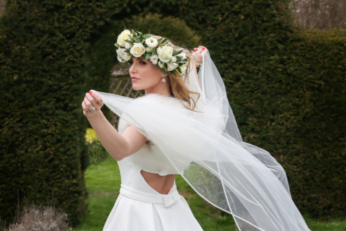 This image was taken from a Summer photo shoot that took place at the very stunning 'The Gradens' in Yalding.  Plus this shoot was published in The Kentish Ceremony - Summer 2018 edition. So much fun on this day working alongside my fellow wedding suppliers, doesnt my model look stunning? :) xx - Make Me Bridal Artist: Clare Lake, Makeup Artist. Photography by: Natalie Crouch Reflections.