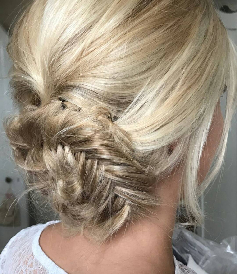 - Make Me Bridal Artist: Bridal hair by Jennie .