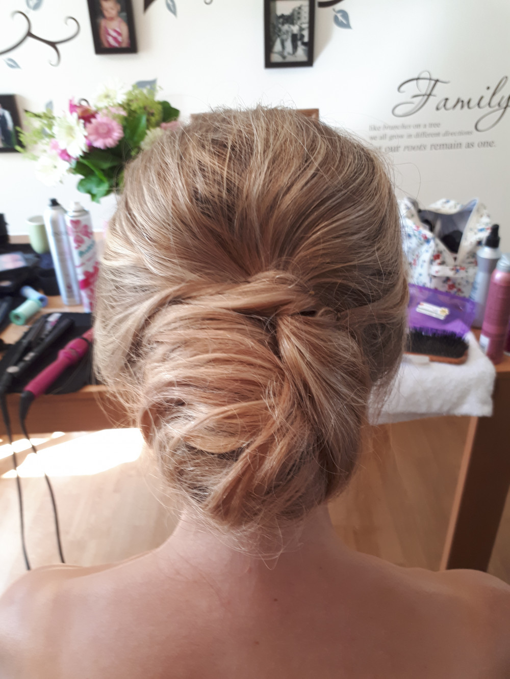 When you want your hair up but in a naturally soft way,  A soft elegant undone bun x - Make Me Bridal Artist: Bridal hair by Jennie . Photography by: Bridal hair by Jennie . #bridalhair