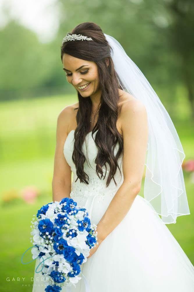 Big soft waves half up half down - Make Me Bridal Artist: Bridal hair by Jennie . Photography by: Gary Derbridge. #halfuphair