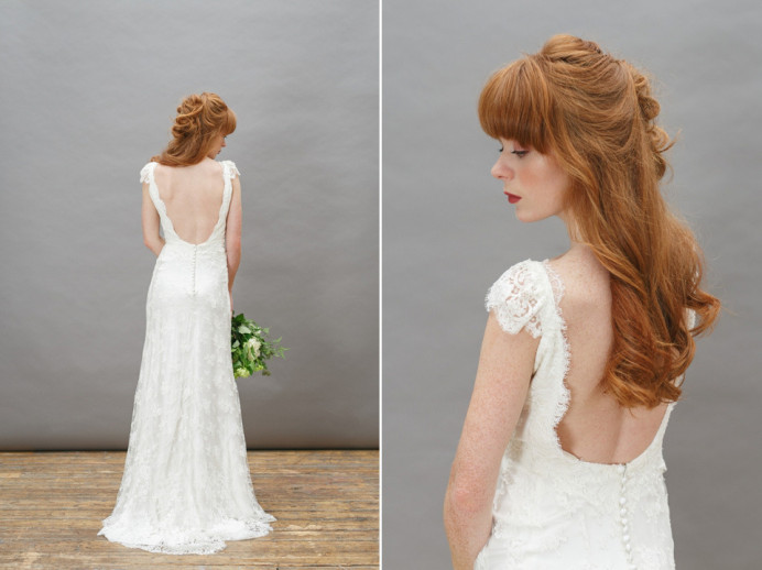 - Make Me Bridal Artist: Love your hair Cassandra . Photography by: Kirsten maveric. #classic #halfuphair #elegant #bridesmaidhair #weddinghair #waves #bride #glamourous #weddinghairdown #weddinghairup #redhair #eleganthair #glambride