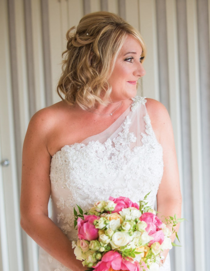 Makeup for Janine ❤️ - Make Me Bridal Artist: Chloe Dixon. #glamorous #bridalmakeup #lashes
