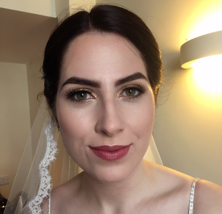I just love love loved this wedding! Not only a client but a friend and she looked so beautiful it made me cry. Natural makeup with a touch of gold to bring out those beautiful green eyes. - Make Me Bridal Artist: Natasha Jane makeup . Photography by: Natasha Shildrick.