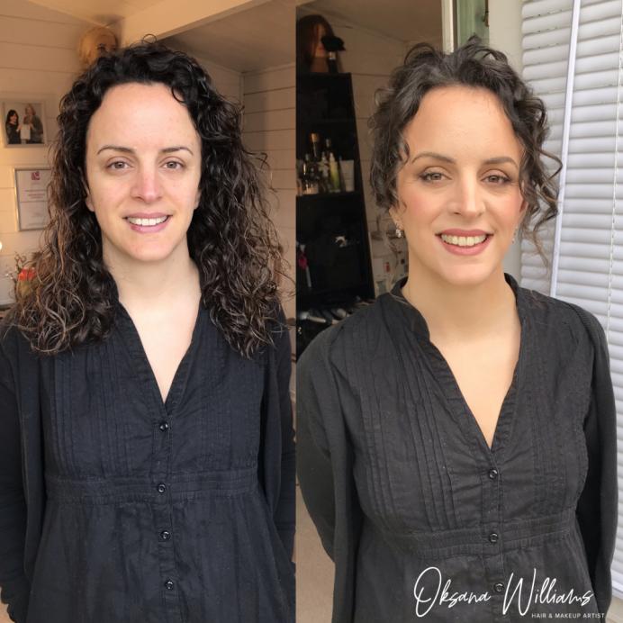 - Make Me Bridal Artist: Oksana Williams Hair&Makeup Artist . #bride #weddingmakeup #springwedding #weddinghairup #curlyhair #curlyupdo