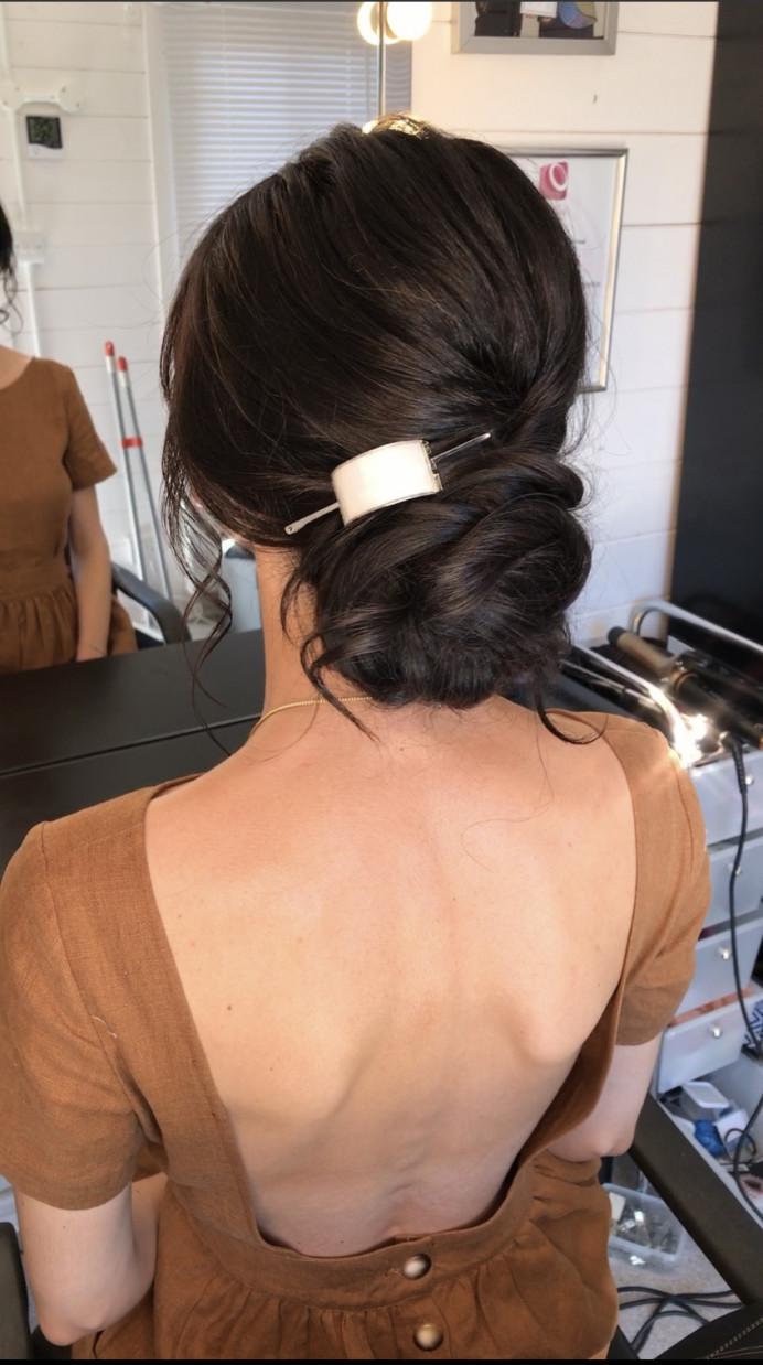 - Make Me Bridal Artist: Oksana Williams Hair&Makeup Artist . #twistedbun #bridalbun #texturedbun #bunupdo
