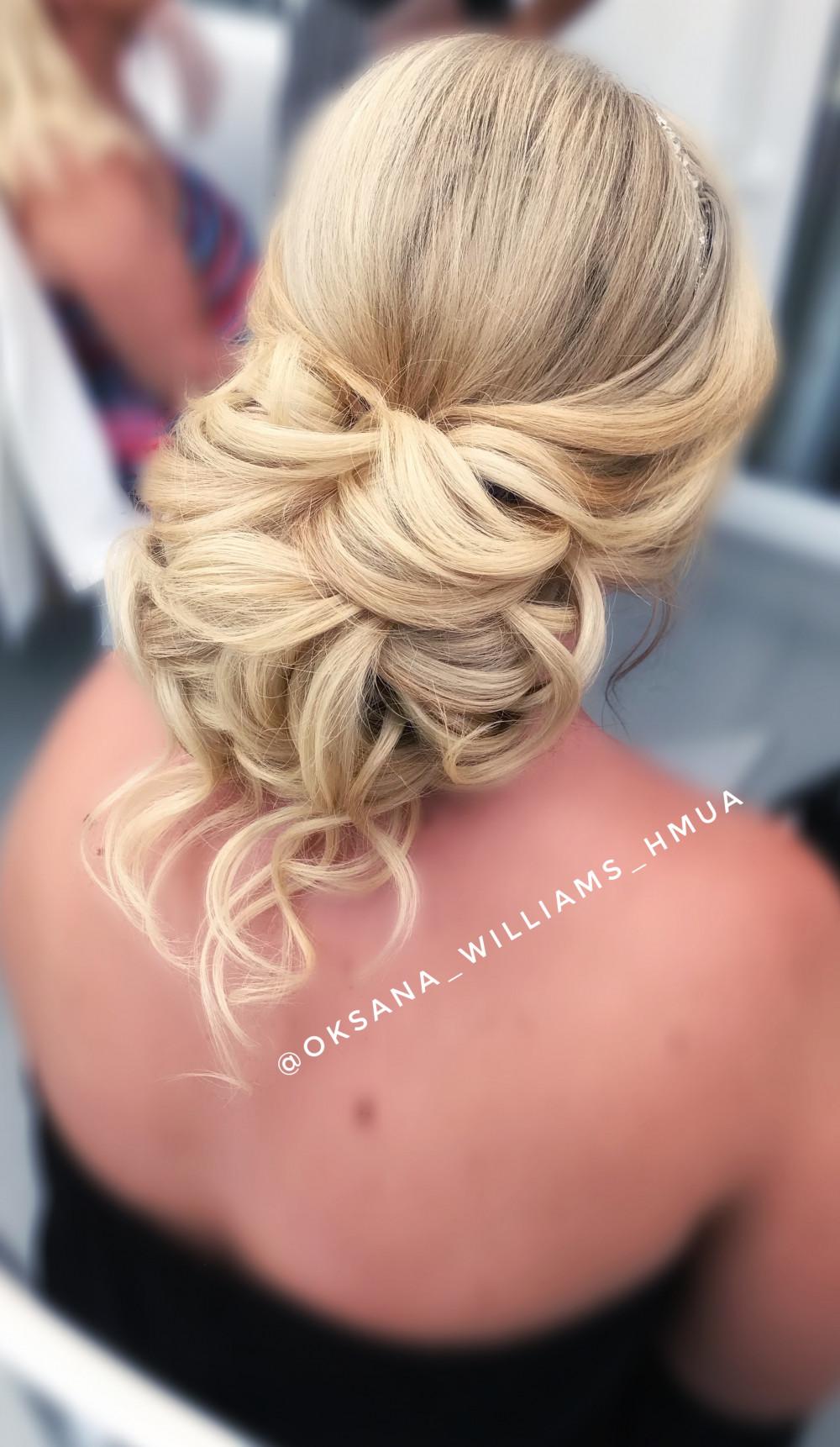 - Make Me Bridal Artist: Oksana Williams Hair&Makeup Artist .