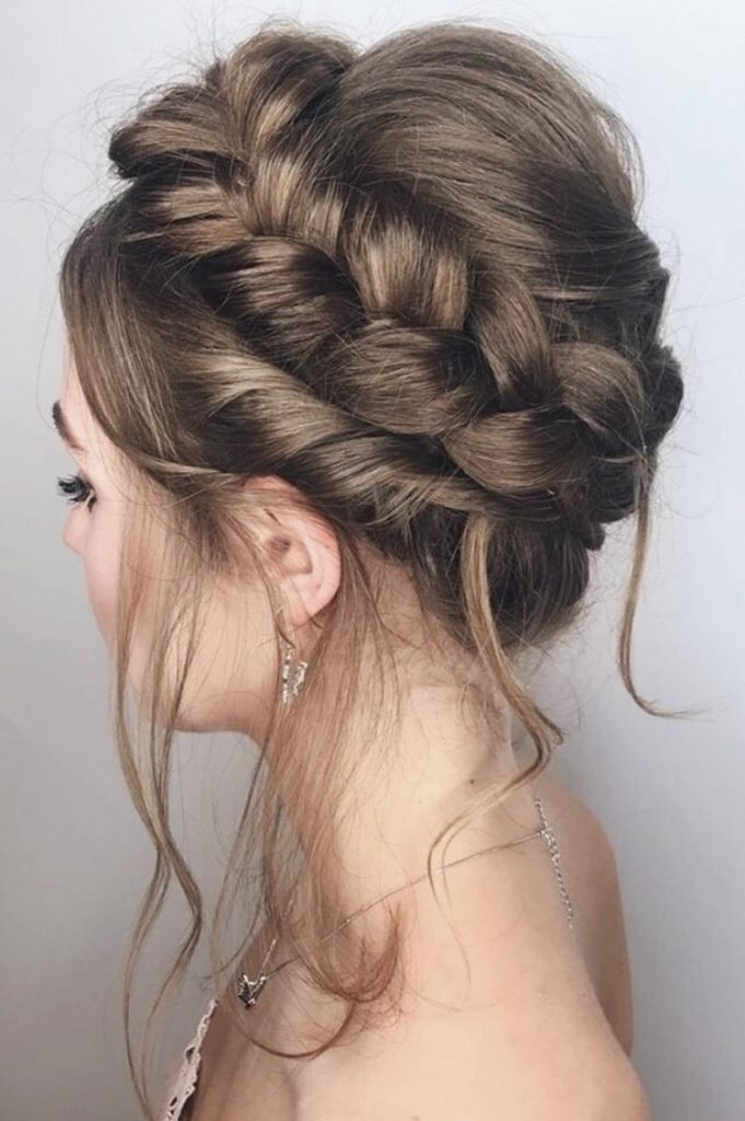 - Make Me Bridal Artist: Oksana Williams Hair&Makeup Artist . #weddinghair #bohobride #bohowedding #bohohair #braids #crownbraid