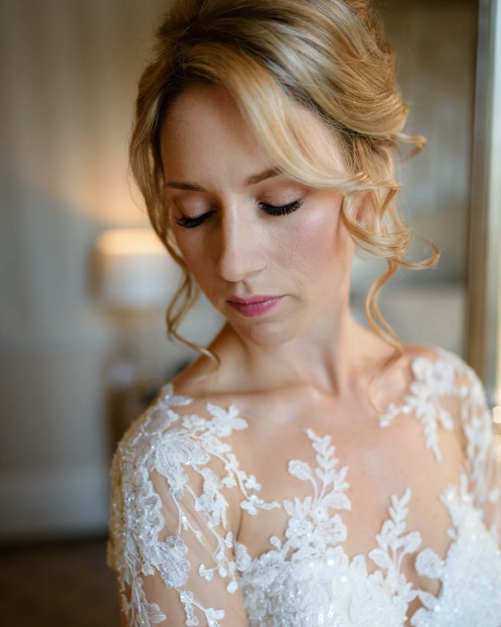 The stunning Victoria ????❤️ - Make Me Bridal Artist: All About You. #bohemian #classic #beautiful