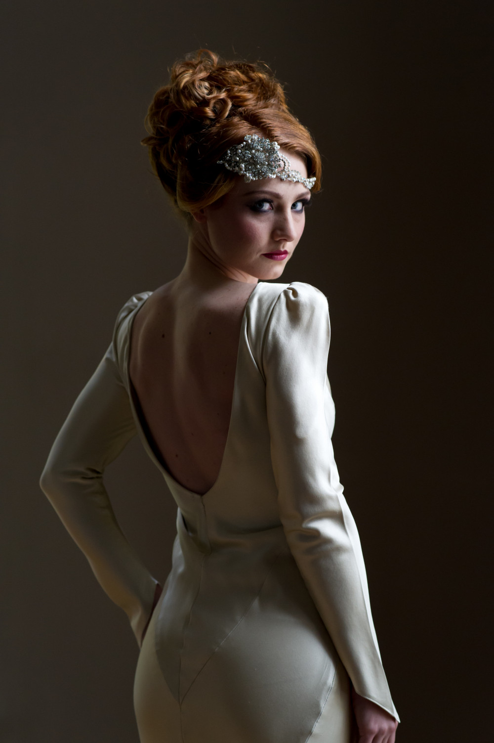 Modern Vintage Styling for Charlotte at 'That Amazing Place' in Essex - Make Me Bridal Artist: Beautiful Hair 4 Weddings. Photography by: Scott Johnson. #vintage