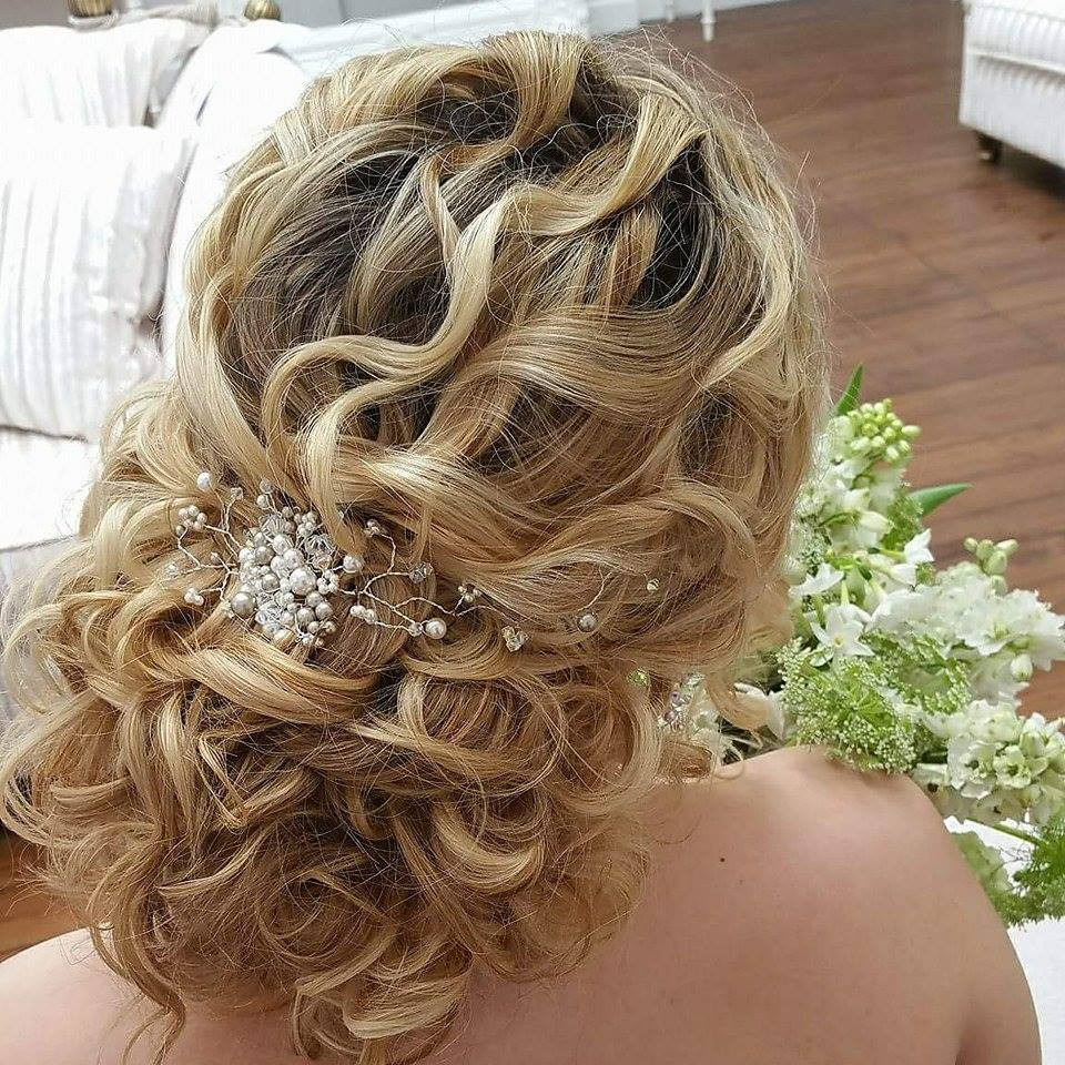 Bridal Hair at Hutton Hall - Make Me Bridal Artist: Beautiful Hair 4 Weddings. Photography by: Myself. #bohemian #boho #curls #soft