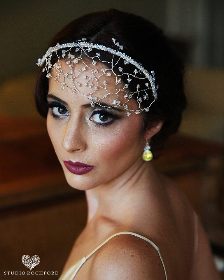 Vintage, timeless,Contoured, Glam photoshoot - Make Me Bridal Artist: Emma Brooks Make-up. Photography by: Studio Rochford. #classic #vintage #bridalmakeup #airbrushedmakeup #elegant #smokeyeyes #perfectmakeup #beauty #mac #wingedliner #bride #weddingmakeup #gatsby #definedmakeup