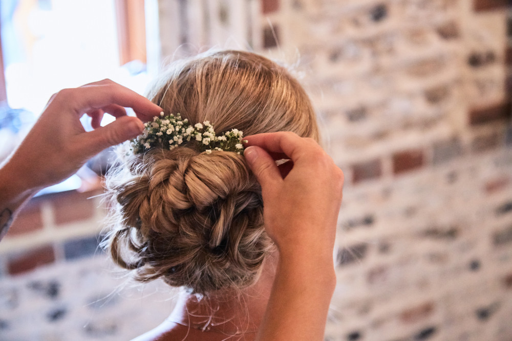 - Make Me Bridal Artist: Polka Dot Hair and Makeup .
