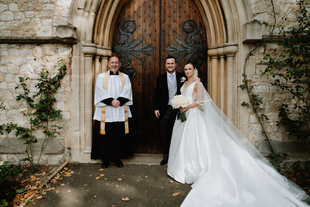 Grace & Chris at their beautiful wedding in Chelsea, London. - Make Me Bridal Artist: Olivia Todd Makeup. Photography by: Tom Durn. #bridalmakeup #glow