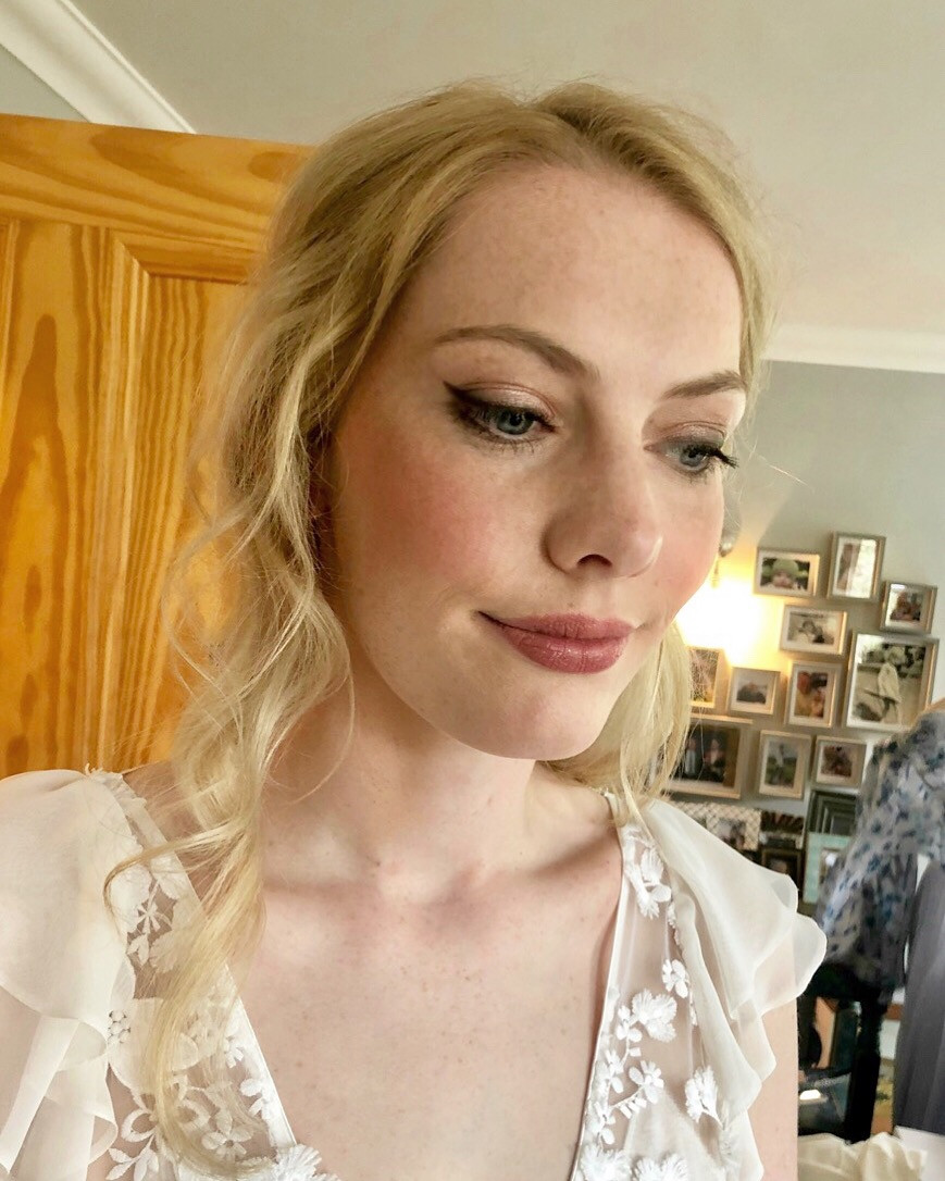 Gorgeous Boho inspired Bridal Makeup - Make Me Bridal Artist: Sarah Clarke Makeup Artist .