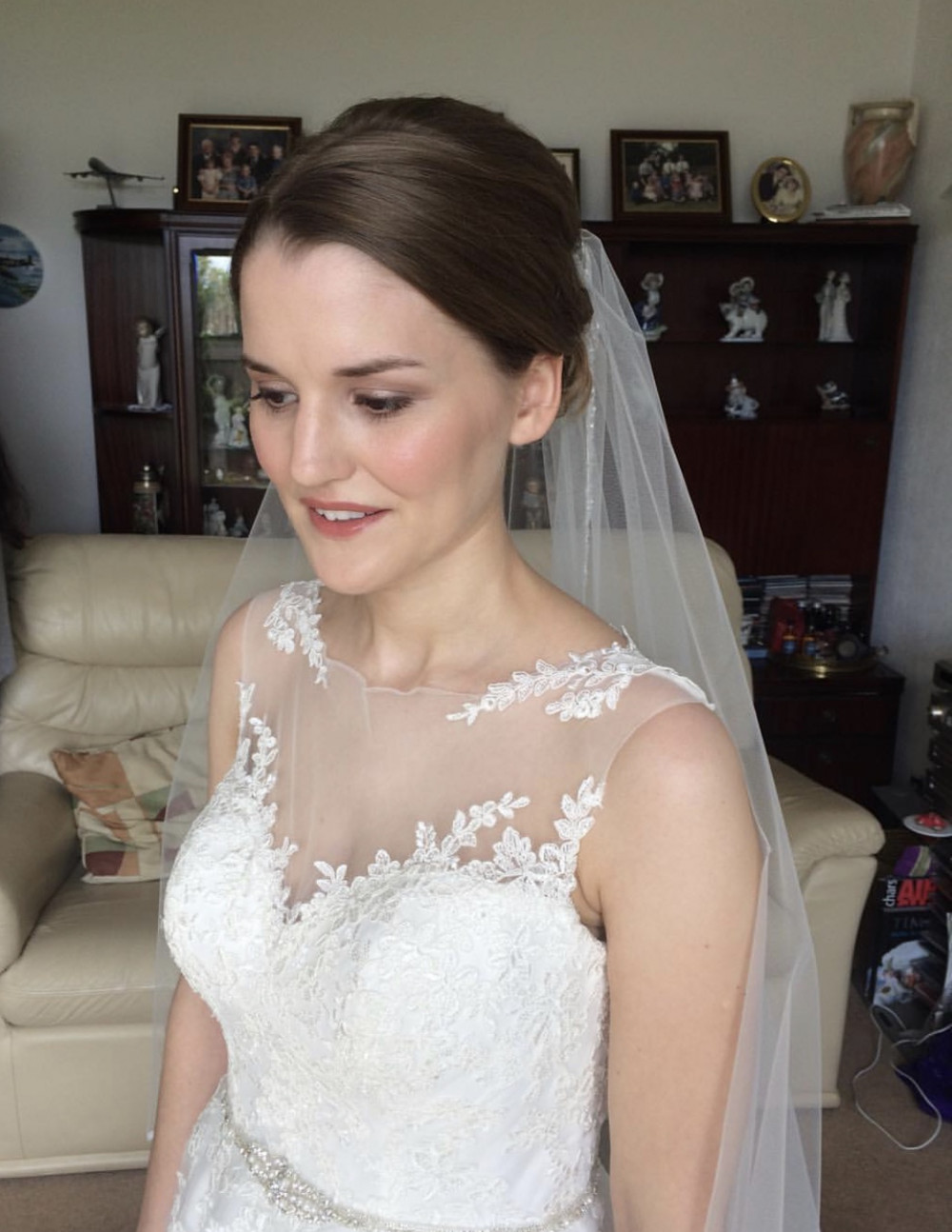 Beautiful, soft, natural Bridal Makeup - Make Me Bridal Artist: Sarah Clarke Makeup Artist .