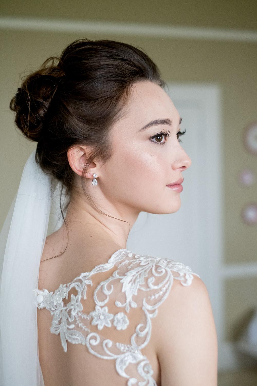 Beautiful flawless skin and softly smoked eyes - Make Me Bridal Artist: Make Up By Jenni. Photography by: Daniel Hughes. #bridalmakeup #weddingmakeup #makeupartist